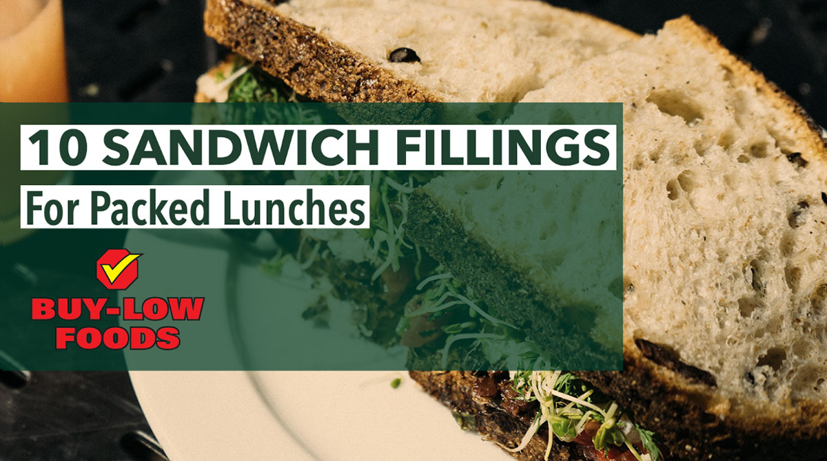10 Sandwhich Fillings For Packed Lunches